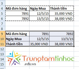 chuyen-cot-thanh-hang-excel